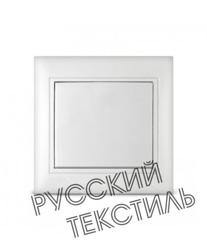 """C- 0021 Выключатель одноклав. серия """"Севиль"""", с/у, 10А, 220В белый"""