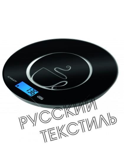 Весы кухонные электронные (черный) макс, 5 кг SC-1215