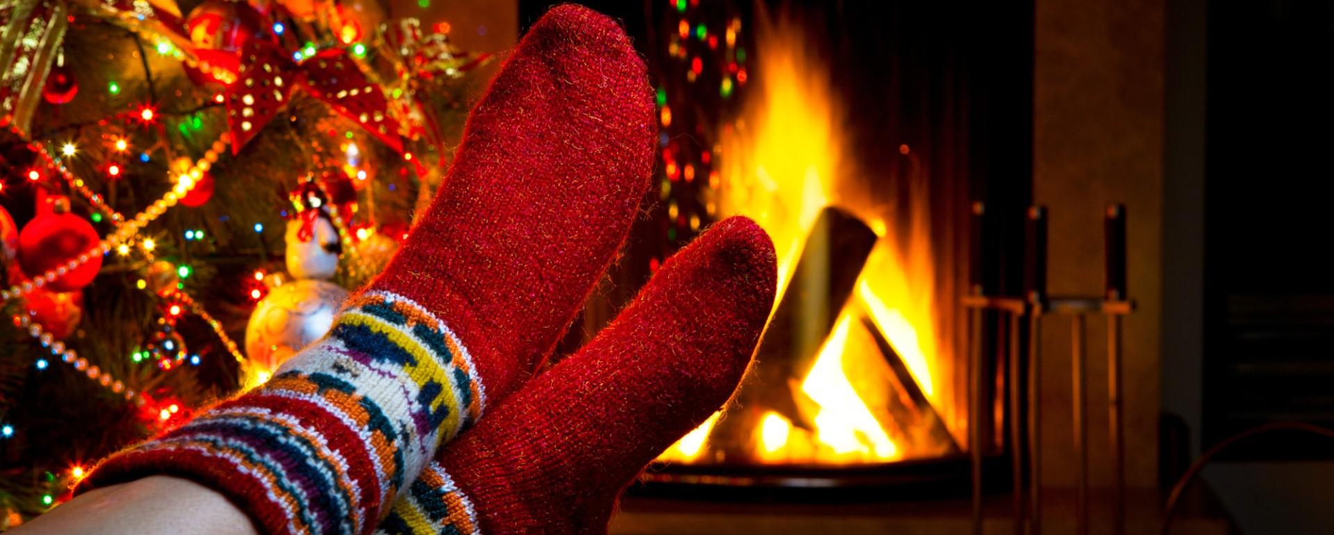 Теплые вязанные носочки всего за 280р - согреют Ваши ножки зимой