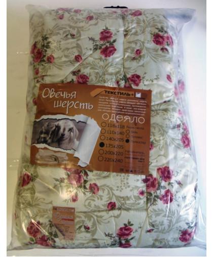 Одеяло 2сп.овечья шерсть